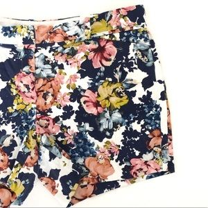 3/$25 The Limited Floral Stretch Shorts